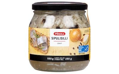Pirkka sipulisilli 550g/250g MSC