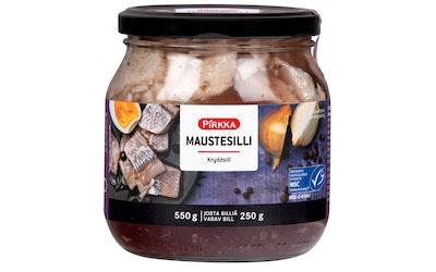 Pirkka maustesilli 550g/250g MSC