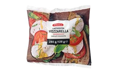 Pirkka mozzarella 280g/125g laktoositon