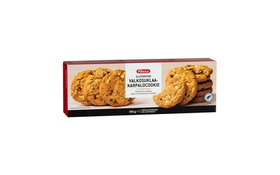 Pirkka gluteeniton valkosuklaa-karpalocookie 150g