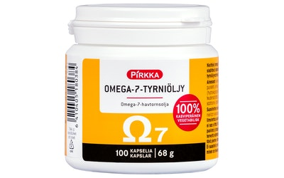 Pirkka omega-7-tyrniöljy 100kpl 68g