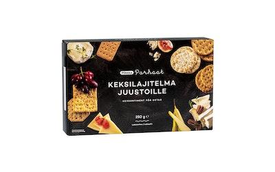 Pirkka Parhaat keksilajitelma juustoille 250g - kuva
