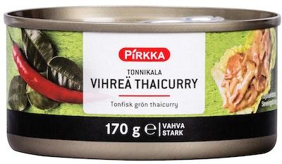 Pirkka tonnikala vihreä thaicurry 170g