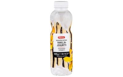 Pirkka rasvaton juotava vaniljajogurtti 500g