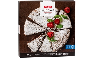 Pirkka mud cake 400g pakaste