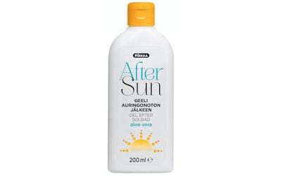 Pirkka After Sun geeli auringonoton jälkeen aloe vera 200ml