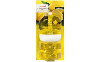 Pirkka wc-geeliraikastin lemon 3x55ml