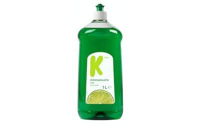 K-Menu astianpesuaine 1l lime