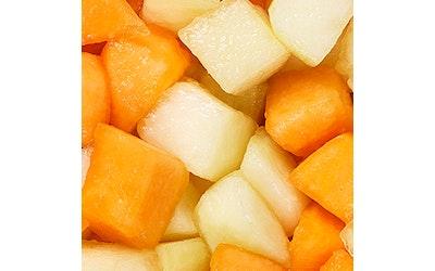 Menu hunajameloni-cantaloupekuutiosekoitus 1kg