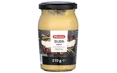 Pirkka Dijon -sinappi 210g