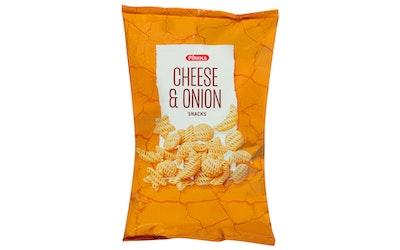 Pirkka cheese & onion snack 200g