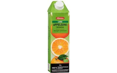 Pirkka Luomu appelsiinitäysmehu 1 l