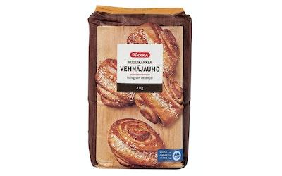 Pirkka puolikarkea vehnäjauho 2kg