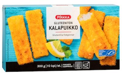 Pirkka gluteeniton kalapuikko 10kpl/300g MSC pakaste