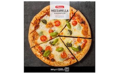 Pirkka kiviuunipizza mozzarella 383g pakaste