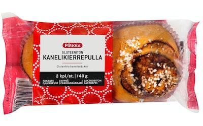 Pirkka gluteeniton kanelikierrepulla 2kpl /140g pakaste