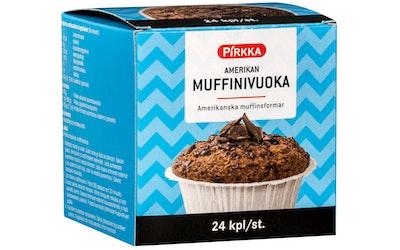 Pirkka amerikan muffinivuoka 24kpl