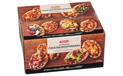 Pirkka gluteeniton cocktailriisipiirakka 30kpl/1050g pakaste