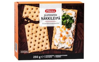 Pirkka gluteeniton näkkileipä 250g