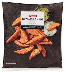 Pirkka bataattilohkot gluteeniton 500g pakaste