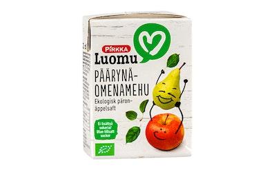 Pirkka Luomu päärynä-omenamehu 2dl