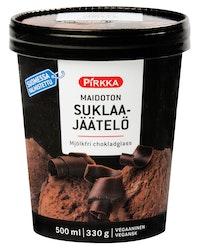 Pirkka maidoton suklaajäätelö 0,5l