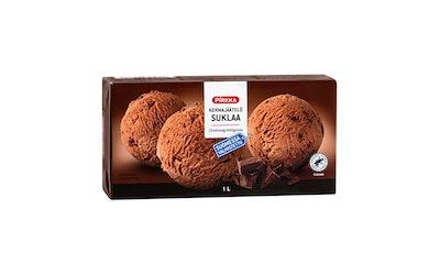 Pirkka kermajäätelö suklaa 1l
