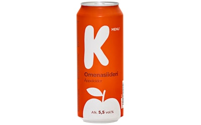 K-Menu omenasiideri 5,5% 0,5l