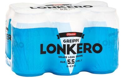 Pirkka greippilonkero 5,5% 0,33l 6-pack