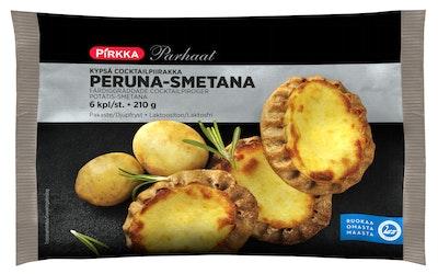 Pirkka Parhaat kypsä cocktailpiirakka peruna-smetana 6 kpl/210g pakaste