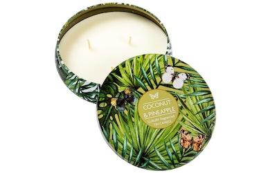 Pirkka tuoksukynttilä Coconut & Pineapple