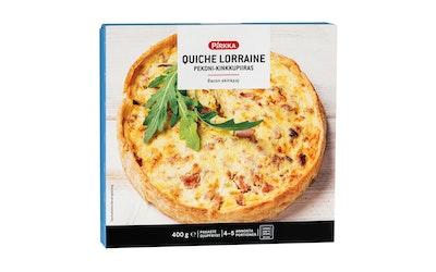 Pirkka quiche lorraine pekoni-kinkkupiiras 400g pakaste