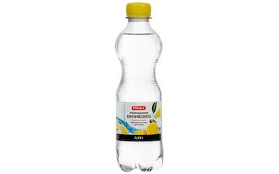 Pirkka sitruunanmakuinen kivennäisvesi 0,33l
