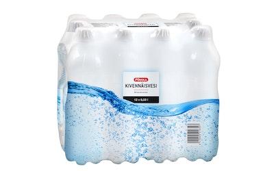 Pirkka kivennäisvesi 0,33l 12-pack