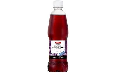 Pirkka karhunvatukka-mustikka juomatiiviste 0,5l sokeriton