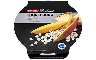 Pirkka Parhaat tuorepuuro mango-ananas 160g