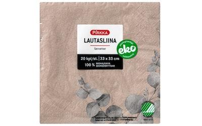 Pirkka Eko lautasliina 20kpl/33cm
