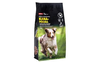 Pirkka Parhaat koiran viljaton kuivaruoka kana-peruna 4kg M-L