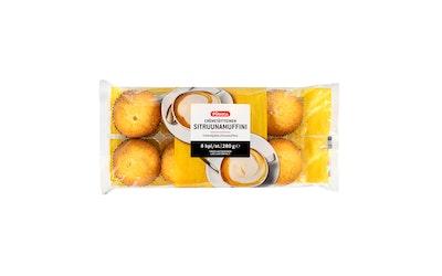 Pirkka cremetäytteinen sitruunamuffini 8kpl/280g