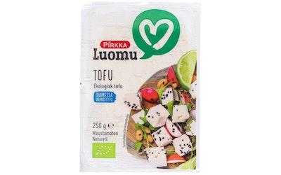 Pirkka Luomu tofu 250g maustamaton