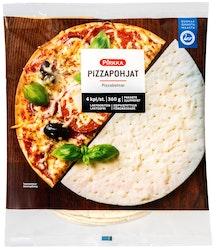 Pirkka pizzapohja 4kpl/360g pakaste