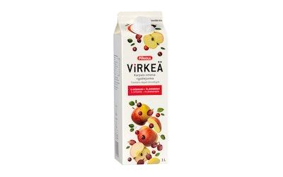 Pirkka Virkeä karpalo-omena-rypälejuoma C-vitamiini + flavonoidit 1l