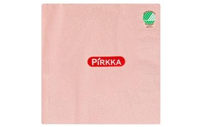 Pirkka lautasliina 50kpl 33cm vaaleanpunainen