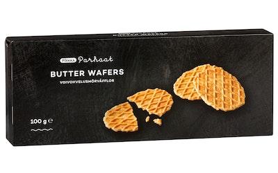 Pirkka Parhaat Belgian butter wafers 100g