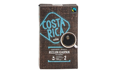 Pirkka Costa Rica Reilun kaupan suodatinkahvi 450g