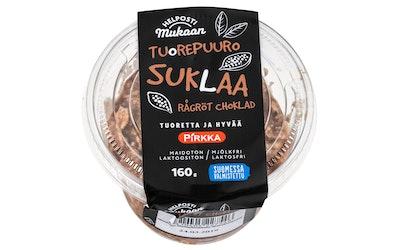 Pirkka Helposti mukaan tuorepuuro suklaa 160g