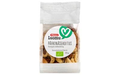 Pirkka Luomu pähkinäsekoitus 100g