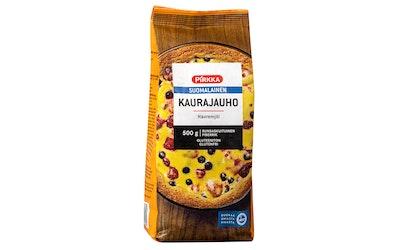 Pirkka suomalainen kaurajauho 500g gluteeniton
