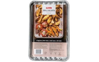 Pirkka grillialusta 4kpl 344x225mm