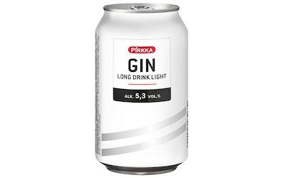 Pirkka GIN Long Drink Light 5,3% 0,33l